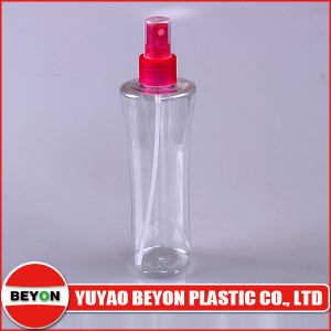 Clear Empty 250ml Waist Plastic Cosmetic Spray Bottle