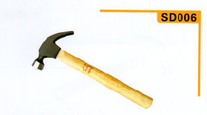 Claw Hammer with Black-Laquerde Handle pictures & photos