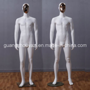 Yazi Fiberglass Male Mannequin with Changeable Face pictures & photos