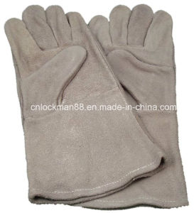 Working Leather Gloves with CE Approval (SQ-007) pictures & photos
