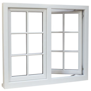 Double Glazing Window, Glass Window, Aluminum Casement Window with AS/NZS2208 pictures & photos