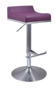 Height Adjustable Swivel Low Back Bar Stool pictures & photos