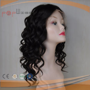 Full French Lace Hand Tied Human Hair Cheap Afro Women Wig pictures & photos