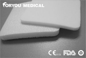 CE FDA Foam Wound Dressing with Super Absorbent Polymer pictures & photos