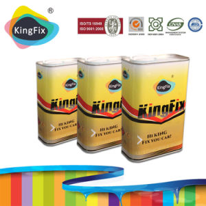 Kingfix Brand Two Component Car Lacquer with High-Performance Thinner pictures & photos
