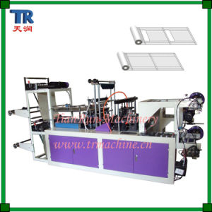 High-Speed Rolling PE Plastic Carry Bag Making Machinery pictures & photos