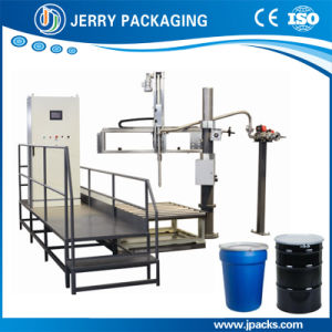 200kg-1000kg Automatic Paint Weight Liquid Filling Machine for Big Drums pictures & photos