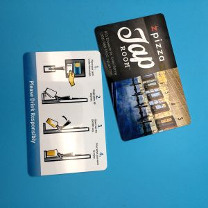 EPC1 Global Gen2 Monza 4 UHF RFID PVC smart Card pictures & photos