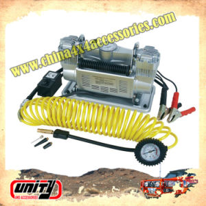 Wholesale Car 2 Cylinder Air Pump Portable DC 12V Mini Car Air Compressor Offroad Electric Air Compressor