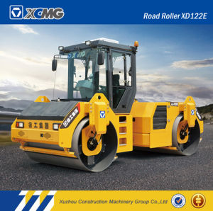XCMG Official Manufacturer Xd122e 12ton Double Drum Road Roller pictures & photos
