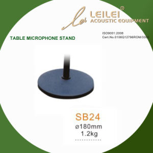 Ajustable Table Microphone Stand Base (SB24) pictures & photos