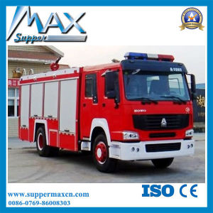 China Supplier HOWO 4X2 Water Tanker Fire Truck pictures & photos