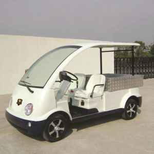 Marshell CE Approved Electric Chandlery Vehicle with Short Cargo Box (DU-N4) pictures & photos