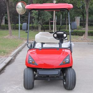 CE Approve 4 Seats Electric Golf Buggy (DG-C4) pictures & photos