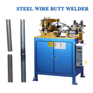 Automatic Electric Resistance Steel Wire Butt Welder pictures & photos