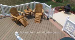 Eco Recycle Plastic Composite Decking for Garden with CE Fsc/ WPC Decking Manufacturer pictures & photos