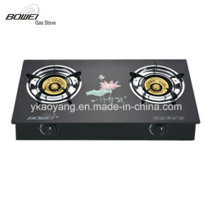 Top Quality Tempered Glass Top Gas Stove