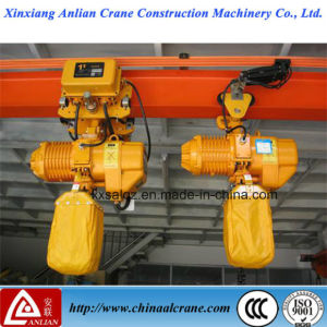 The High Quality Electric Chain Hoist with Trolley pictures & photos