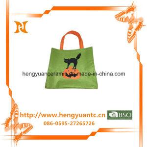 High Quality Fashion Cat Design Felt Bag pictures & photos