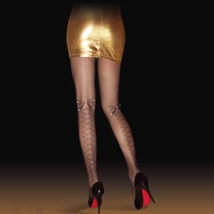 Butterfly Knot Pantyhose with Rhinestone Z8003 pictures & photos