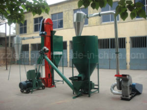 Cheap Farm Use Rabbit/Chicken Poultry Feed Production Line pictures & photos