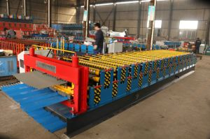 Double Layer Tile Roof Sheet Wall Trapezoid Forming Machine pictures & photos