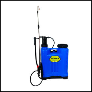 16L PE Knapsack Manual Sprayer with Stainless Steel Lance pictures & photos