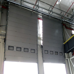 Sectional Industrial Door/Industrial Door/Industrial Garage Door (HF-001) pictures & photos