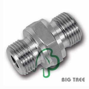 Hexagon Nipple Tube Compression Fitting Stainless Steel 316 pictures & photos
