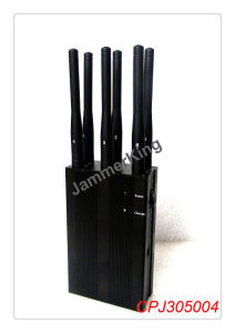 6 Antenna Handheld GPS 3G 4G Cellphone Blocker/ Selectable Handheld 3G 4G All Phone Signal Blocker & WiFi Jammer pictures & photos