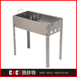 Custom Made Stainless Steel 304 316 Outdoor Charcoal BBQ Barbecue Grill pictures & photos
