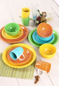 16PCS Blue Color Hand Painted Daily Use Dinner Set pictures & photos