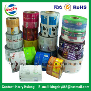 Rewind Film/Rolling Film/Packaging Film for Auto-Packing Machine for Food/ Coffee/Biscuit/Bean Milk/ Fruit Juice/Beverage