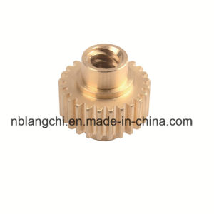 High Precision Transmission Copper Branze Worm Gear Wheel Nuts pictures & photos