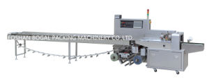 Automatic Vegetables Film Bag Sealing and Cutting Pillow Fruits Packing Machine Ald-450X pictures & photos