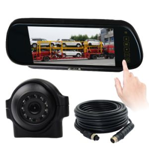 7inch Mirror Monitor Night Vision Car Backup Waterproof Camera System pictures & photos