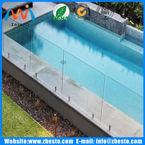 Outdoor Pool Safety Tempered Toughened Fencing Railing Glass for Sale pictures & photos