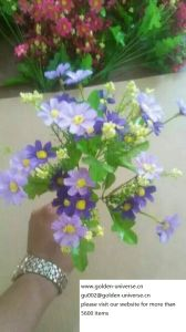 High Quality of Artificial Flowers of Wild Flowers Bush Gu-Jy902121138 pictures & photos