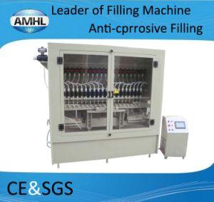 Automatic Anti-Corrosive Bottle Filling Machine for Pesticides pictures & photos