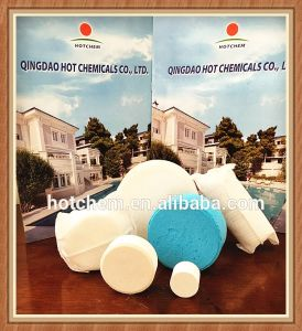 Ica Tablet / Chlorine Stabilised Isocyanuric Acid 98.5% pictures & photos