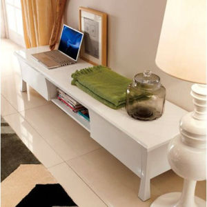 Modern Home Furniture High Glosstv Stand with MDF Cabinet (WLF-KD923H)