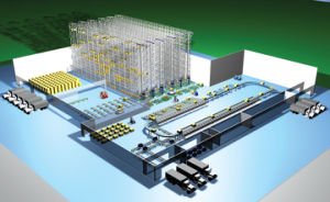 Fire Fighting Protection System on Logistics Project pictures & photos