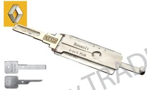 Genunie Lishi Renault Pick and Decoder 2 in 1