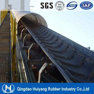 Open V Chevron Pattern Rubber Conveyor Belt pictures & photos