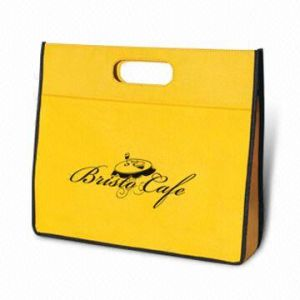 Die-Cut Handle Non Woven Bag for Promotion