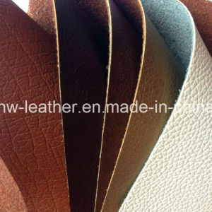 Tear Resistant Bonded PU Leather for Sofa Hw-1777 pictures & photos