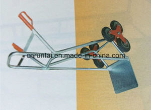 Three Wheels Zinc Plated Hand Trolley pictures & photos