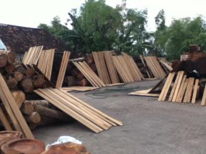 Chinese Factory High Quality Timber Decking