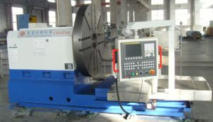 CNC Heavy Face Lathe Machine with Fanuc Controller (CK64160) pictures & photos