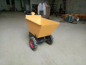 3 Wheels Mini Electric Hydraulic Dumper pictures & photos